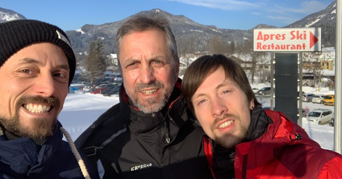 bensing und reith ski fahren